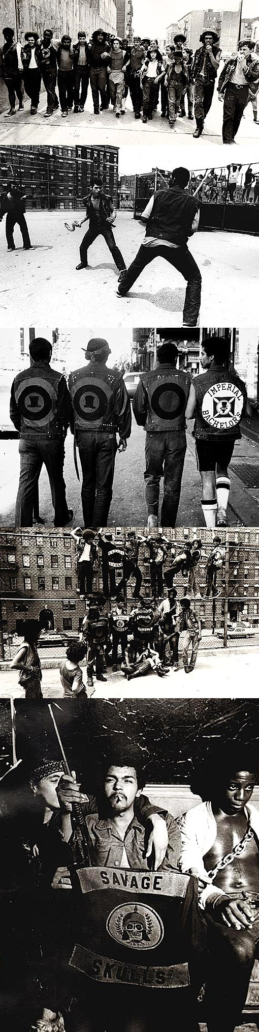 Savage Skulls Bronx Street Gangs http://pickadolla.wordpress.com/2011/10/05/the-savage-skulls-by-laurent-corbel/