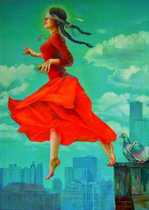 Blind Man's Bluff 79X109 cm Natalia Rak small
