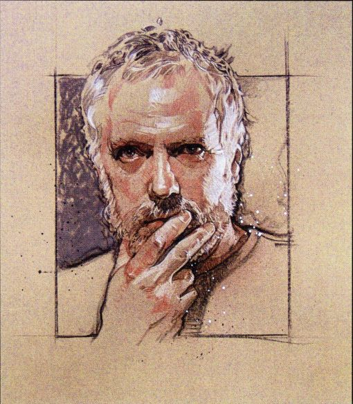Drew-Struzan-Self-Portrait-Art