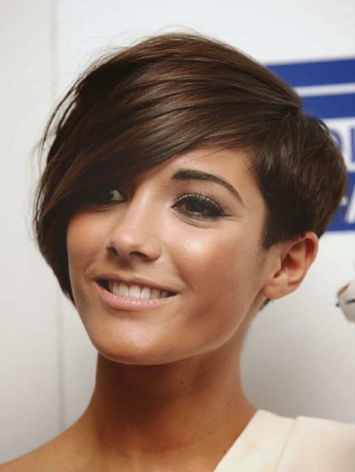 Frankie-Sandford-Asymmetrical-Short-Hair-Style-Stylish-Hairstyles-for-Thin-Hair-2015
