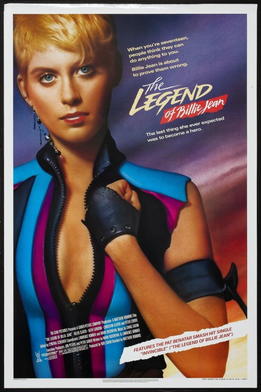 THE LEGEND OF BILLIE JEAN - American Poster