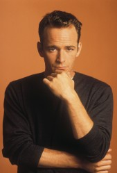 Editorial use only. No book cover usage. Mandatory Credit: Photo by Spelling/Kobal/REX/Shutterstock (5884781w) Luke Perry Beverly Hills 90210 - 1990-2000 Spelling TV Portrait