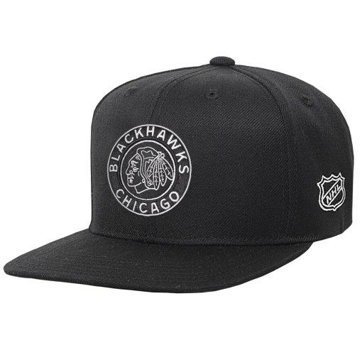 Chicago Blackhawks Youth Black 2019 Winter Classic Snapback Hat